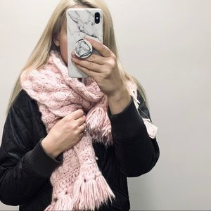 NWT Free People chunky knit scarf